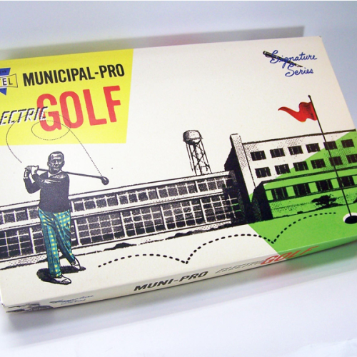 Electric Municipal-Pro Electric Golf Set
