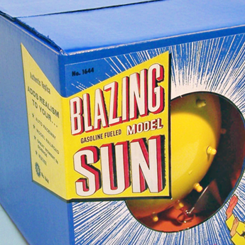 Blazing Model Sun