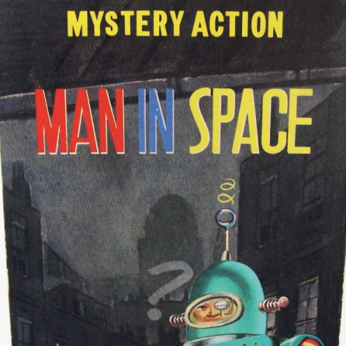 Mystery Action Man in Space